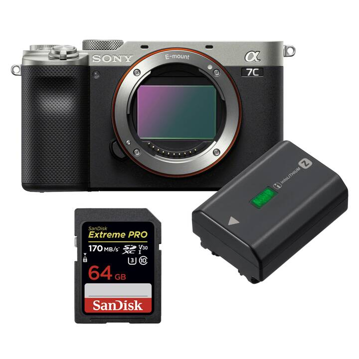 SONY Alpha 7 C Kit (24.2 MP, WLAN)
