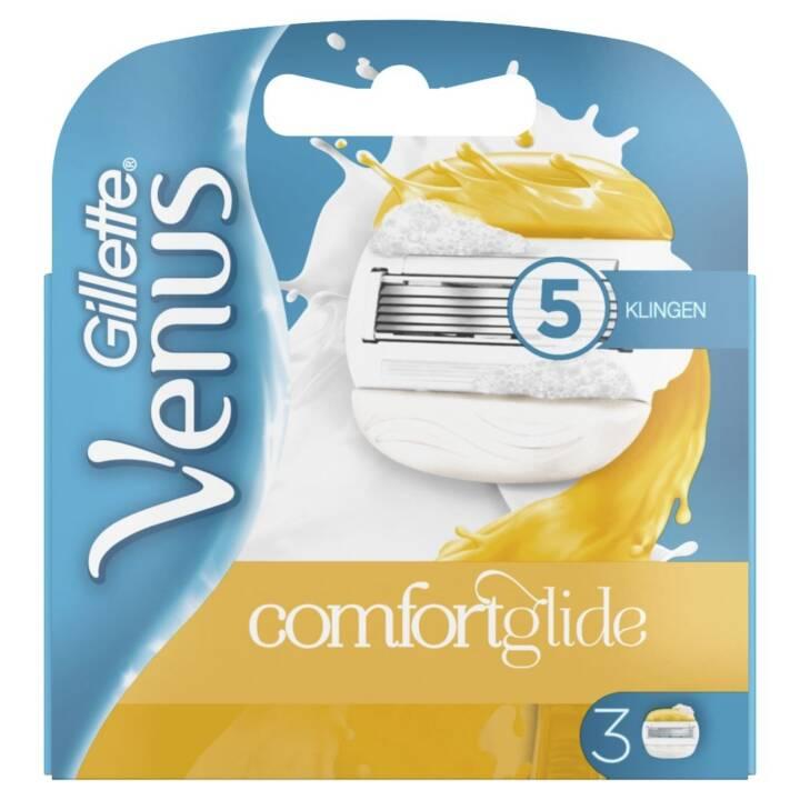 GILLETTE Lames de réserve pour rasoirs dame Venus ComfortGlide (3 pièce)
