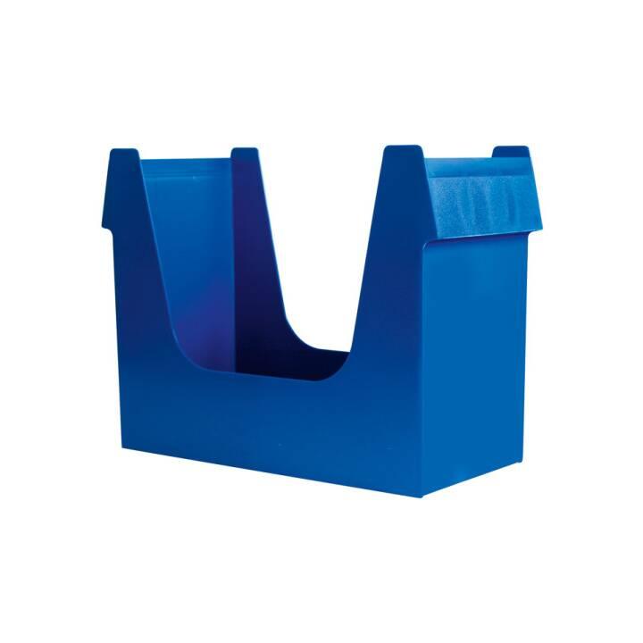 BÜROLINE Scatola per cartelletta sospensione A4 blu