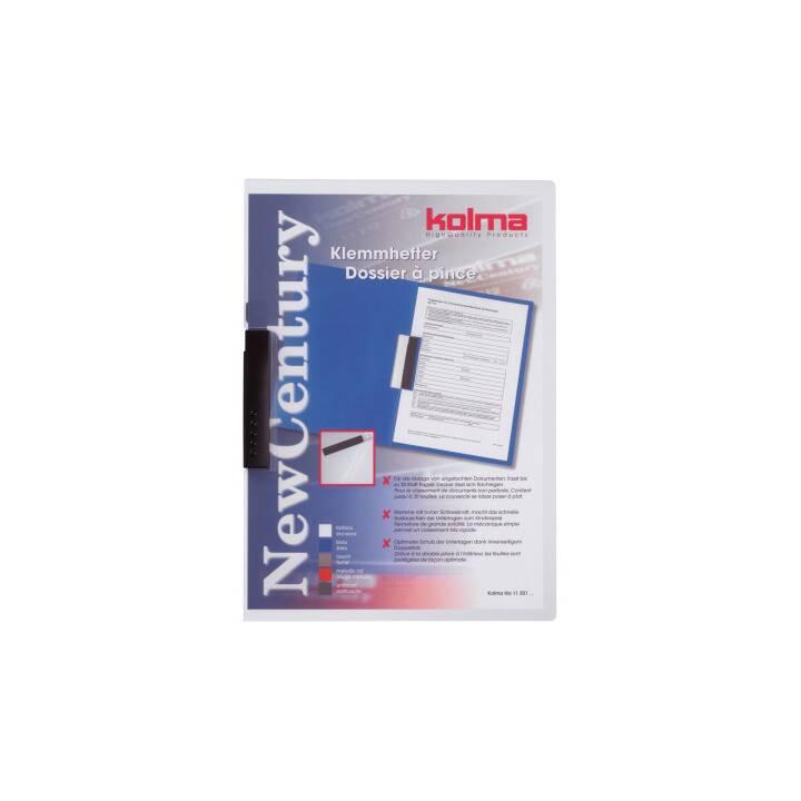 KOLMA RACER Clip folder New Century A4 trasparente