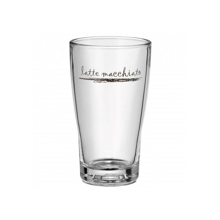 Latte Macchiato Glas Set 6 St/ück Barista