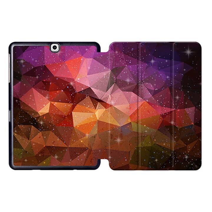 """EG MTT Tablet Tasche mit Smart faltbare Abdeckung für Samsung Galaxy Tab S2 9.7 """"- Orange"""