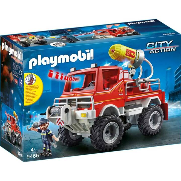 Camion d'incendie PLAYMOBIL (9466)