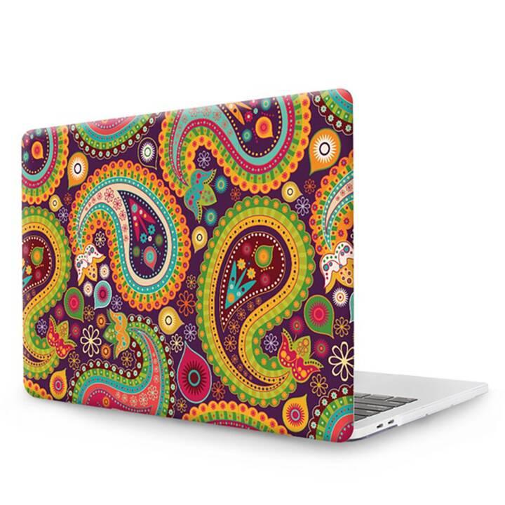 """EG MTT Laptop Abdeckung mit Tastaturabdeckung, Anti-Staubschutz, Kugelschreiber für MacBook Pro 13"""" Touch Bar - Ethnisch"""