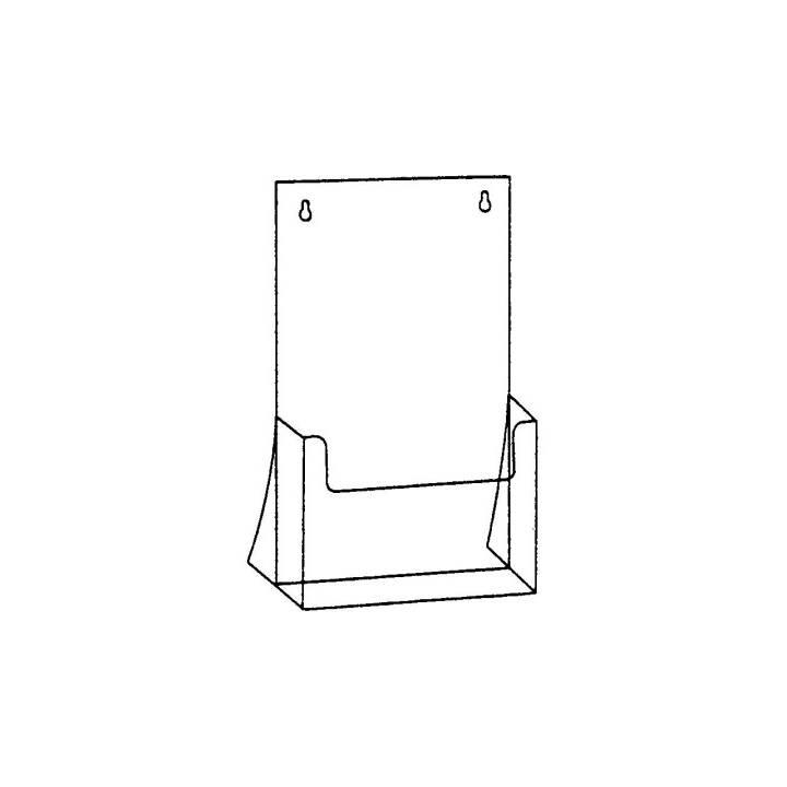 SEM Prospekt-Dispenser, A4, Transparent