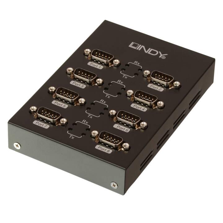 LINDY Netzwerkadapter (USB 2.0, RS-232, 90 cm)