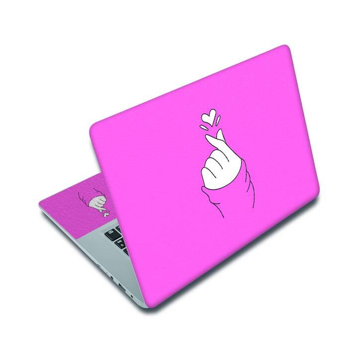 "EG adesivo per laptop 14"" - amore"
