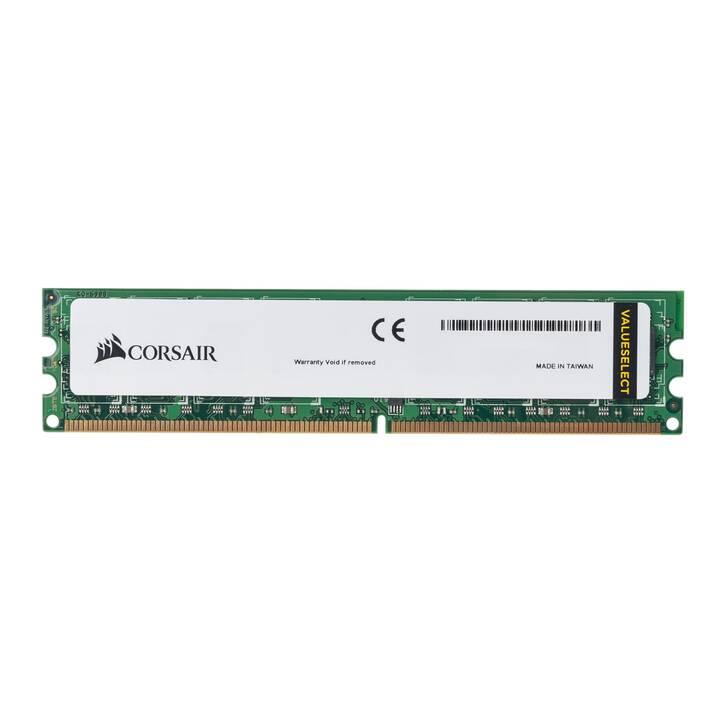 CORSAIR ValueSelect (1 x 4 GB, DDR3-SDRAM, DIMM 240-Pin)