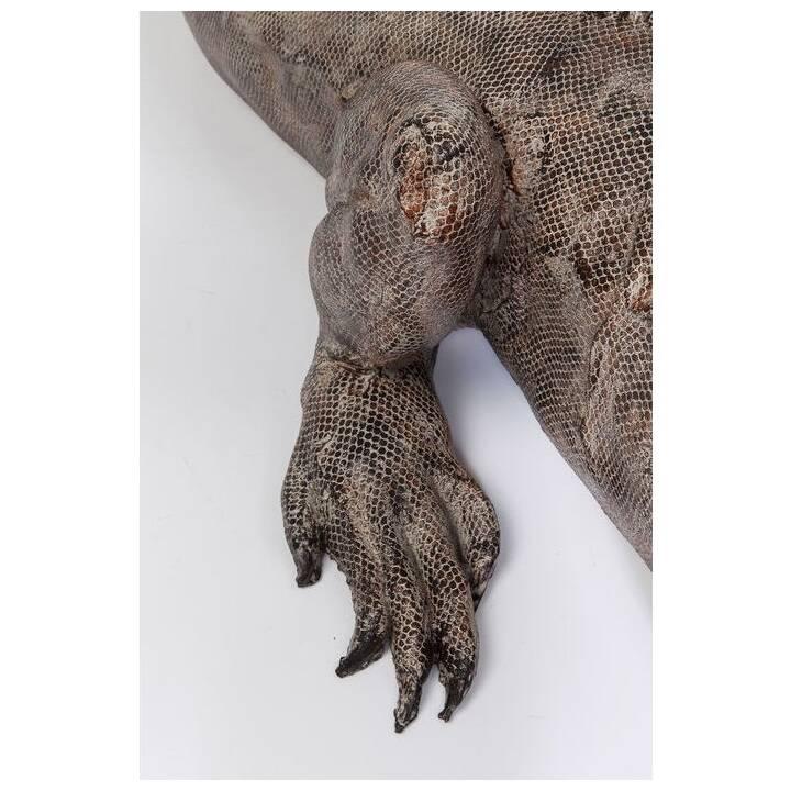 KARE Deko-Figur Iguana (Grau)