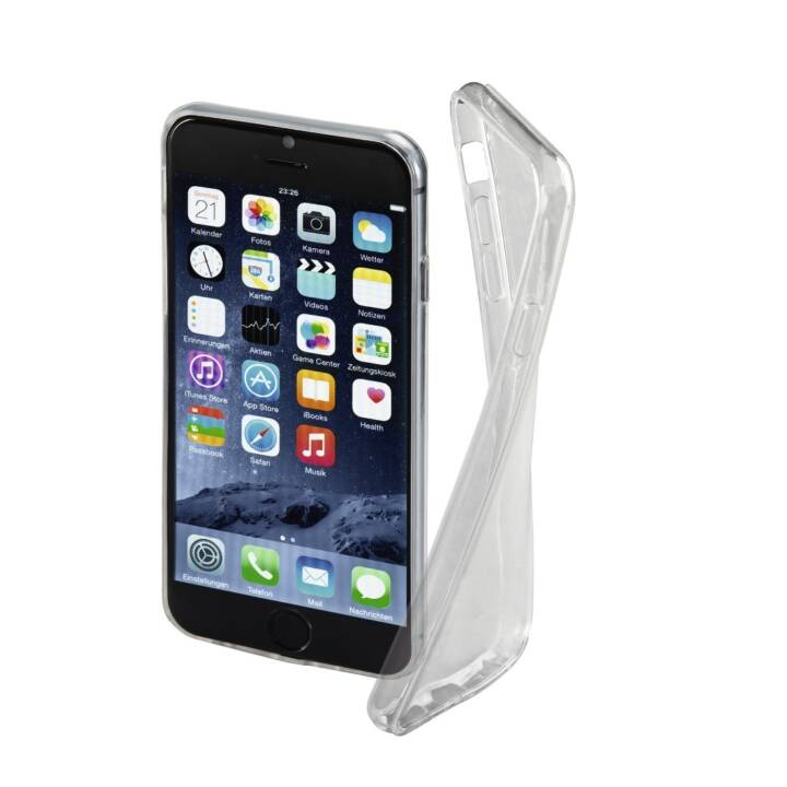 HAMA Backcover Clear (iPhone 6, iPhone 6s, Transparent)