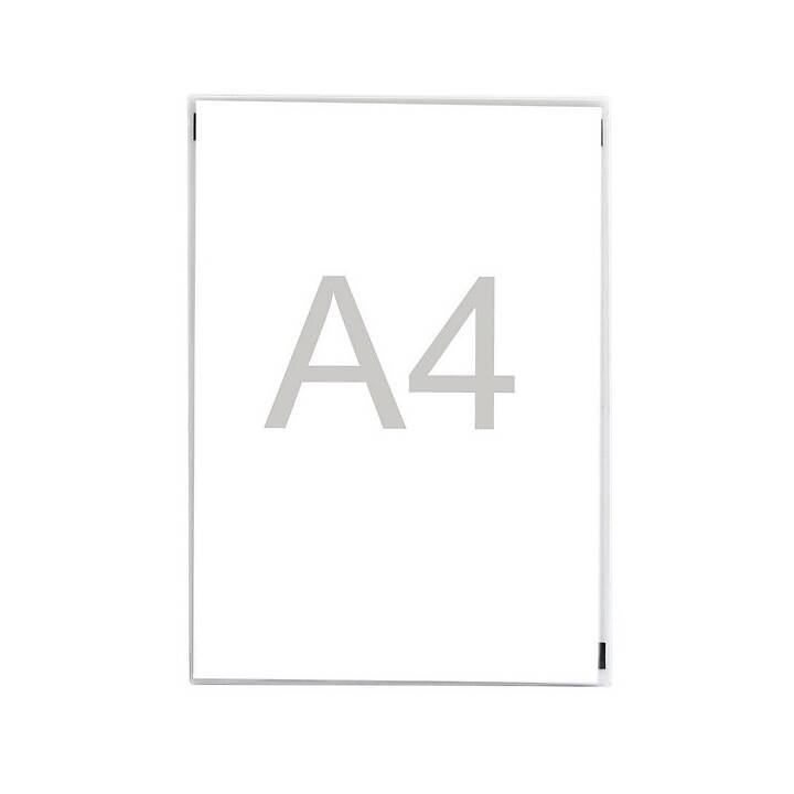 MAGNETOPLAN Cartellina trasparente (Transparente, A4, 2 pezzo)