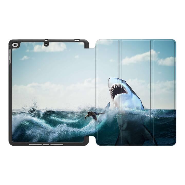 "EG MTT Custodia per Apple iPad 10.2"" 2019 - squalo"
