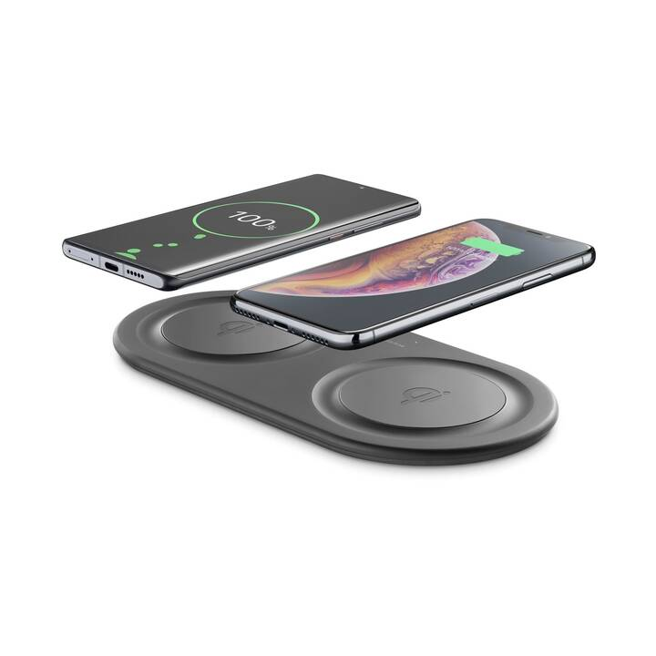 CELLULAR LINE Wireless Fast Charger Dual Caricabatteria senza fili (10 W)