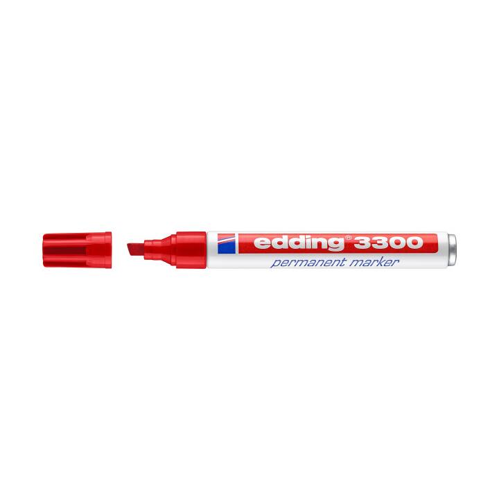 EDDING Marcatore permanente 3300 rosso
