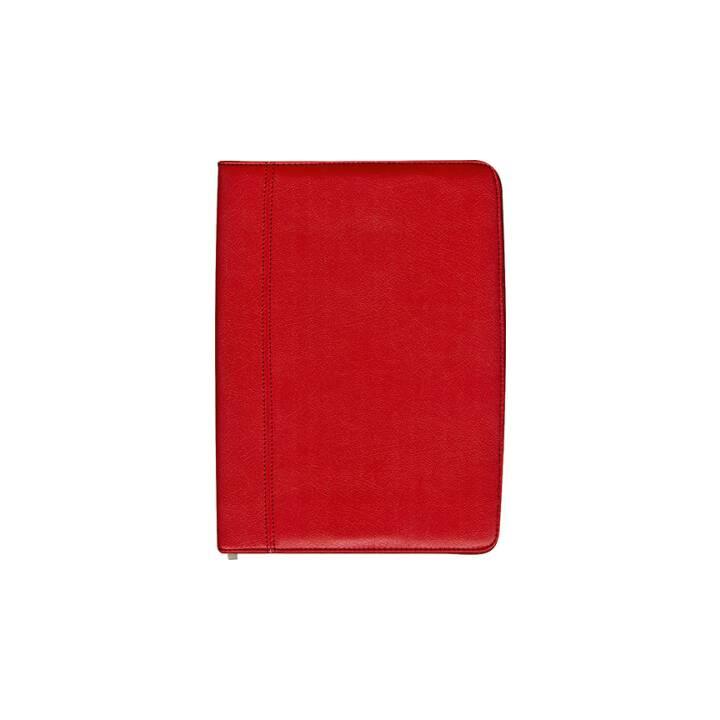 BÜROLINE Fancy writing case A4 rosso rosso