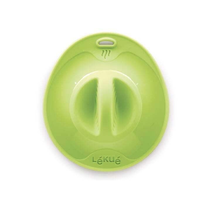 LÉKUÉ Coperchio in silicone verde 32 cm