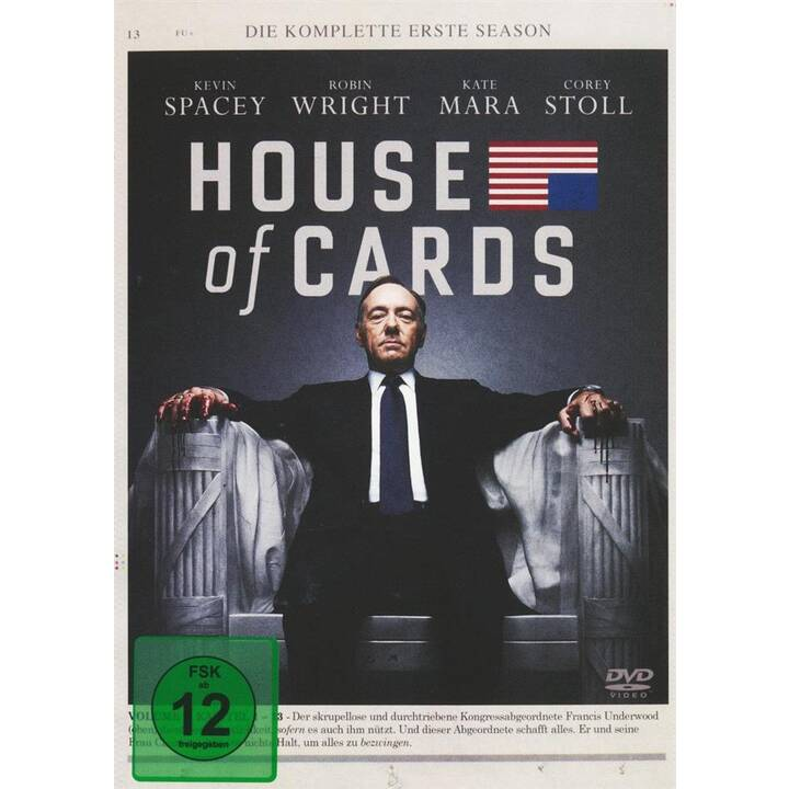 House of Cards Saison 1 (DE, EN)