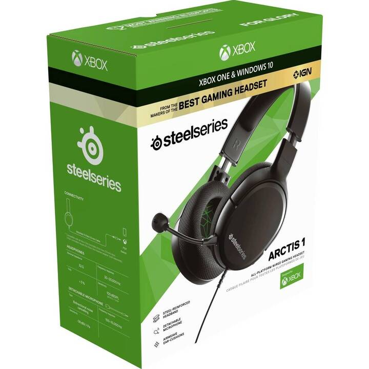 STEELSERIES Gaming Headset Arctis 1 (Over-Ear)