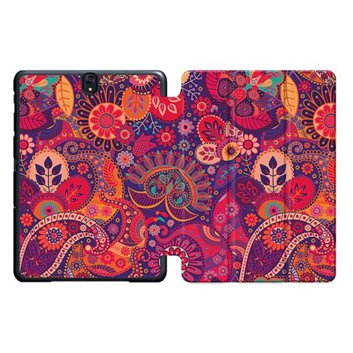 """EG MTT Sacoche pour tablette avec housse pliable Smart pour Samsung Galaxy Tab S3 9.7"""" MTT - Ethnique"""