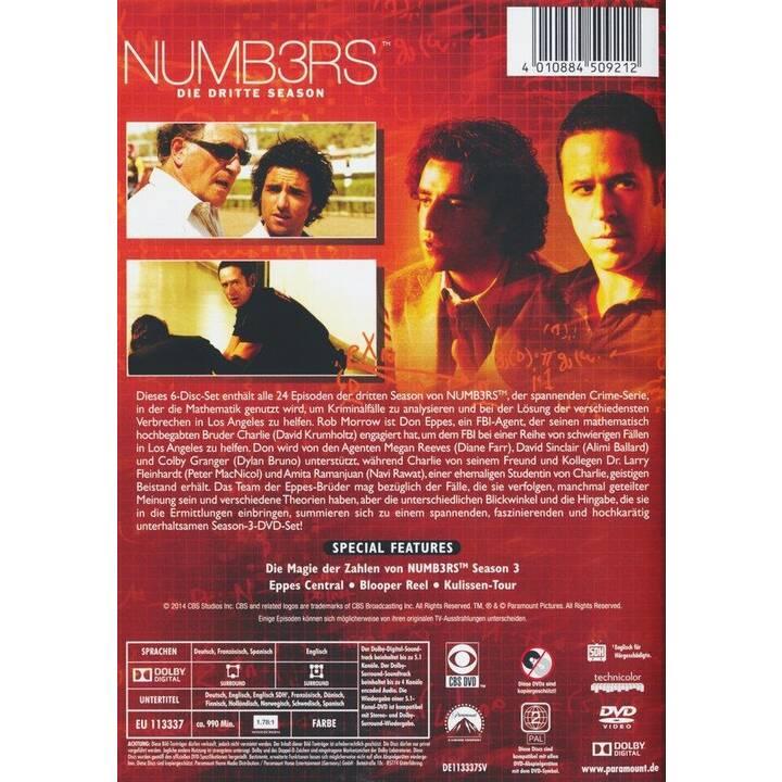Numbers Staffel 3 (EN, FR, DE, ES)