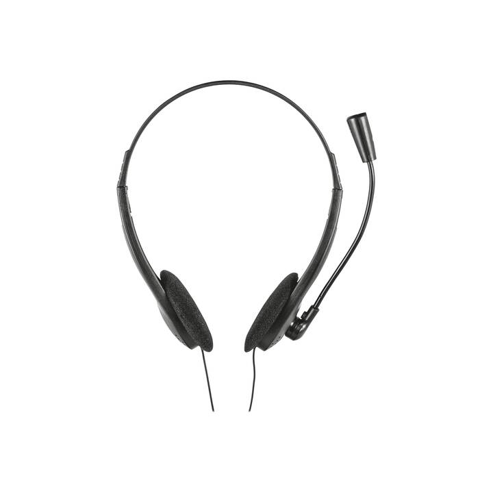 TRUST Office Headset Primo (On-Ear, Duo)