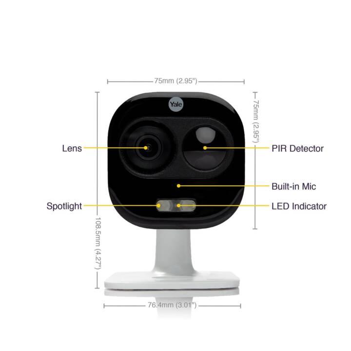 YALE Caméra de surveillance SV-DAFX-W (WLAN)
