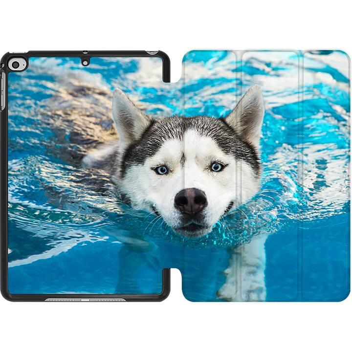 EG MTT Coque pour iPad Mini 4 (2015) et Mini 5 (2019) - husky