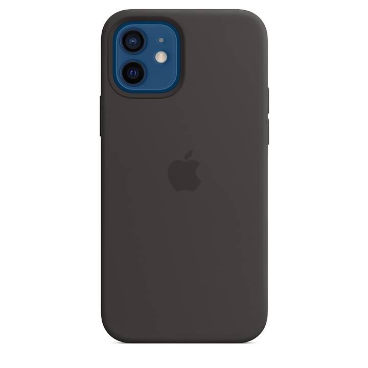 APPLE Backcover MagSafe (iPhone 12, iPhone 12 Pro, Schwarz)