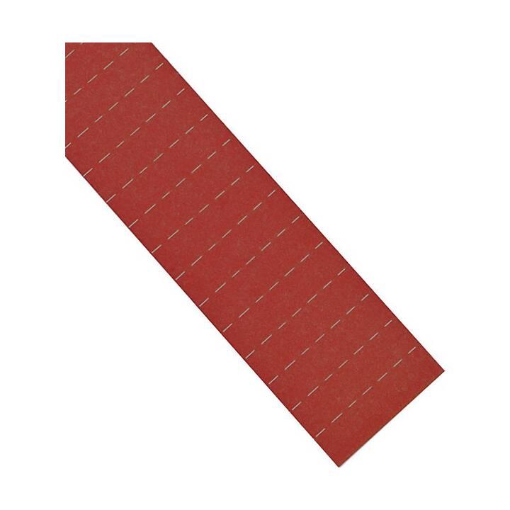 MAGNETOPLAN Etichetta ferrocard (50 mm, Rosso)