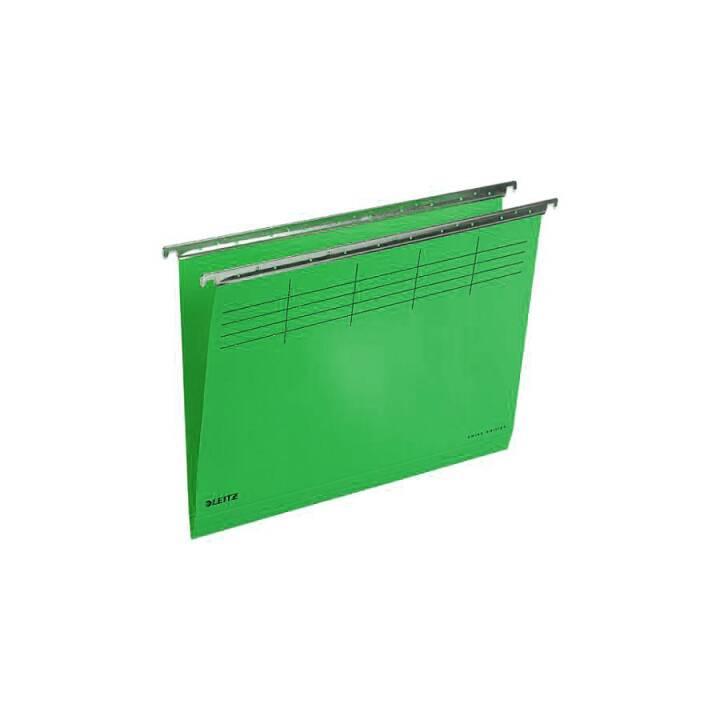 LEITZ Boîtes pour dossiers suspendus (A4, Vert)