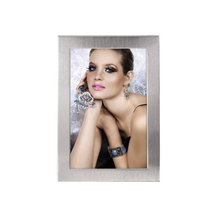"""HAMA Cornice Ritratto """"Davos"""", argento, 13x18 cm"""