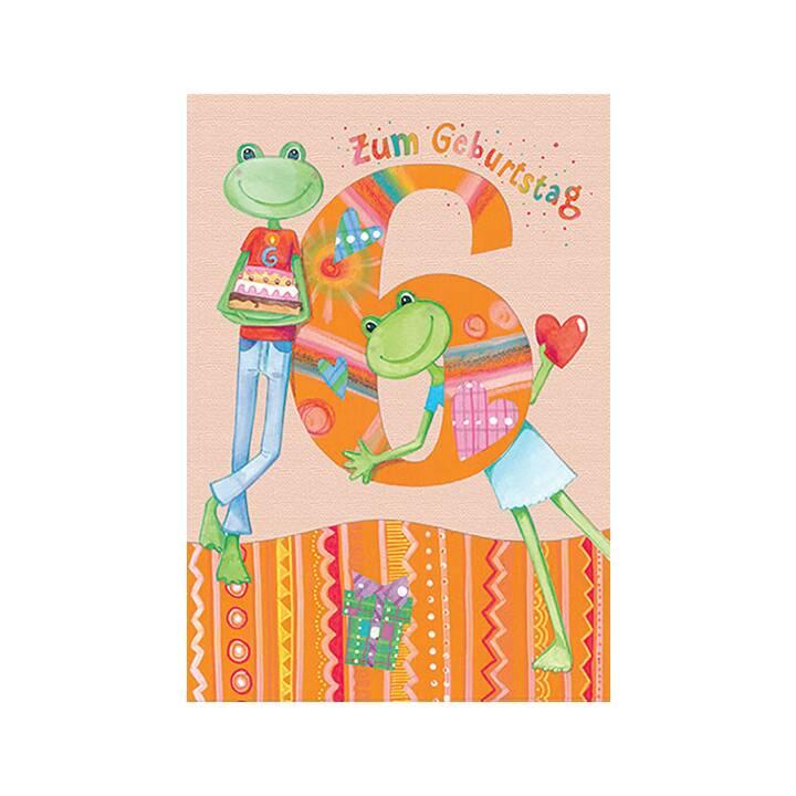 CART Glückwunschkarte (Geburtstag, Mehrfarbig)