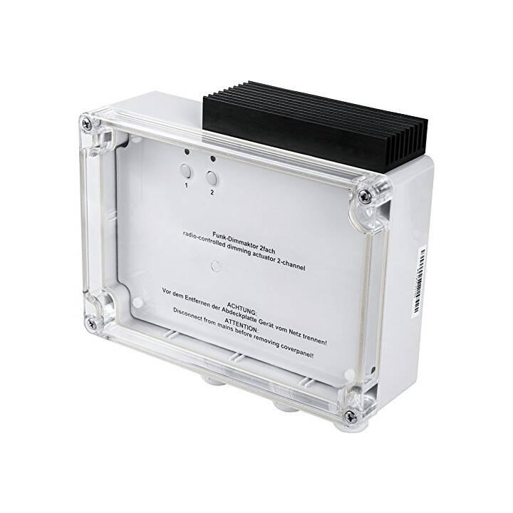 HOMEMATIC actionneur de gradation radio 2 fois, commande d'angle de phase