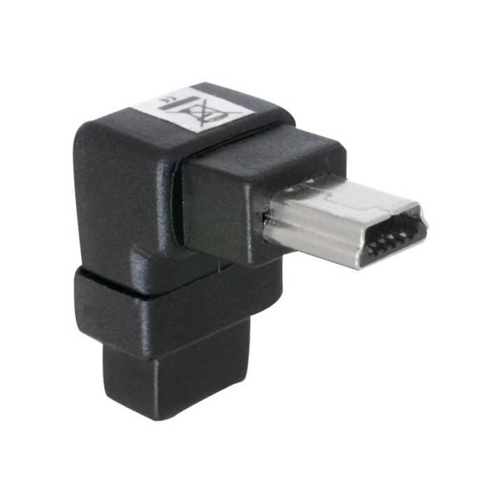 DELOCK Adapter (Mini USB Typ-B, USB 2.0 Mini Typ-B)