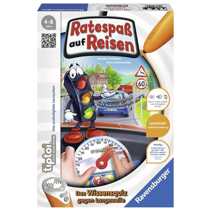 TIPTOI Council Pass on Travel Learning Game, DE