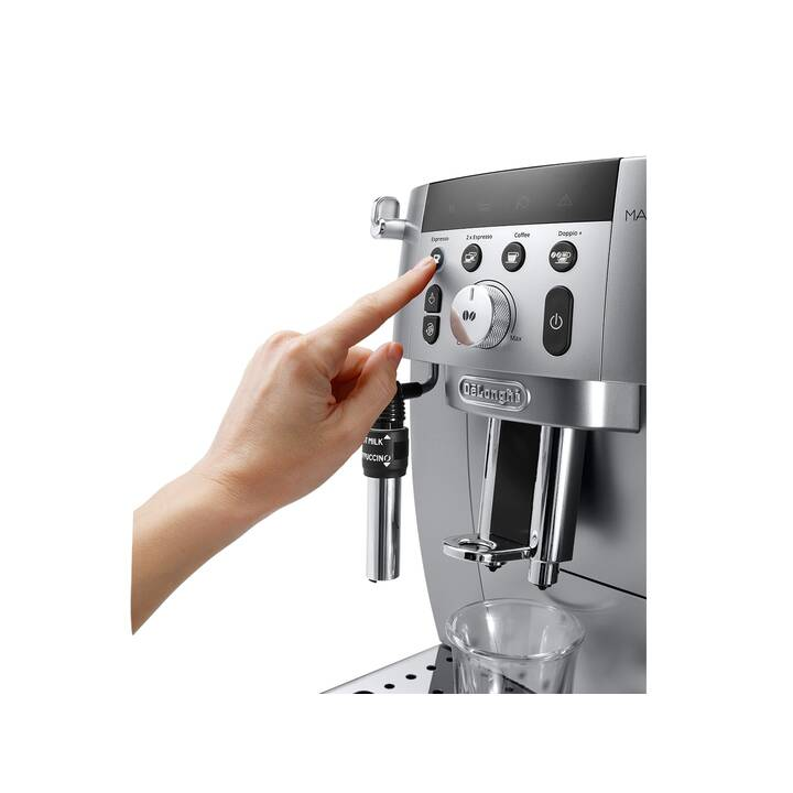 DELONGHI ECAM 250.31.SB (Silber, 1.8 l, Kaffeevollautomat, 1 Tassen)