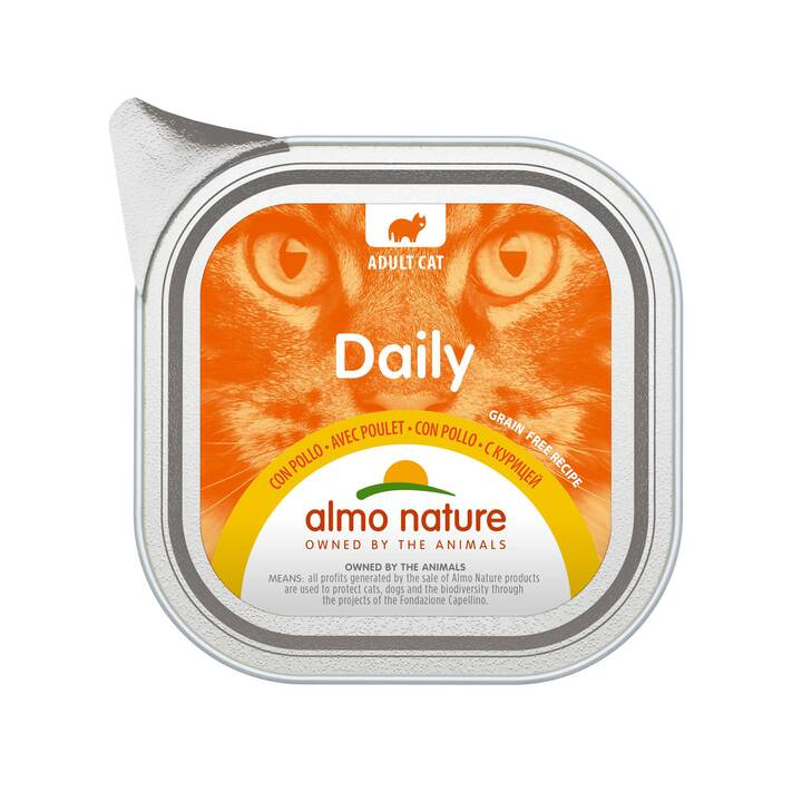 ALMO NATURE Daily (Adult, 100 g, Huhn)