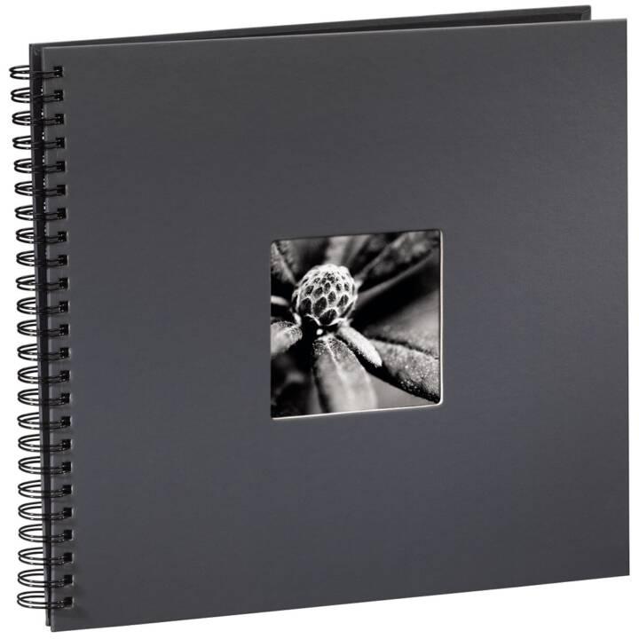 """HAMA """"Fine Art"""" album spirale, 50 pages noires, gris"""