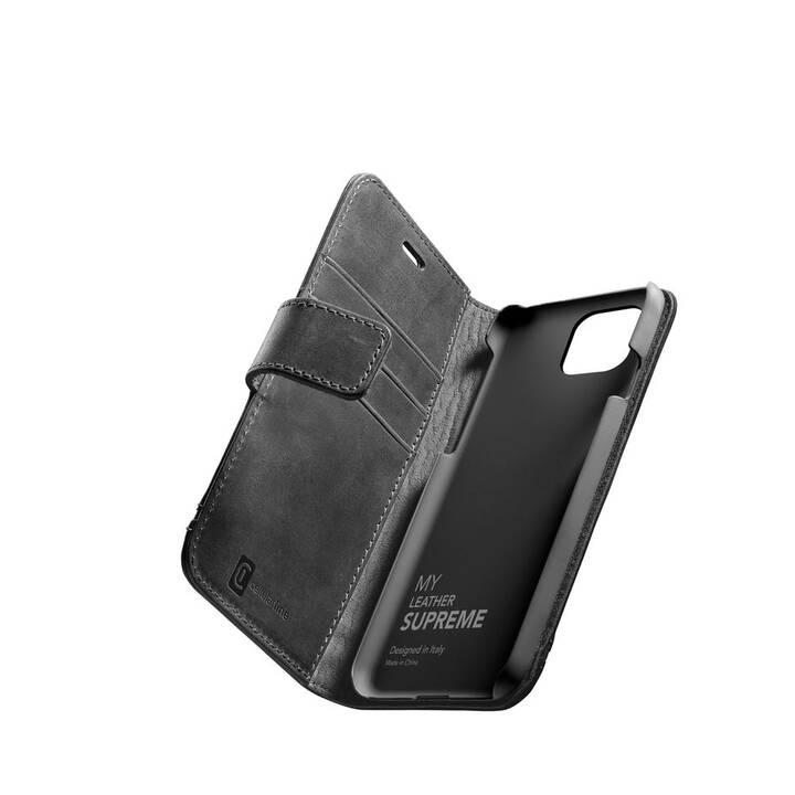 CELLULAR LINE Flipcover Supreme (iPhone 12 Mini, Noir)