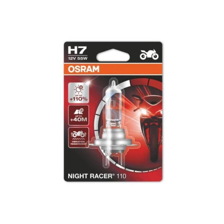 OSRAM H7 Night Racer 110, moto