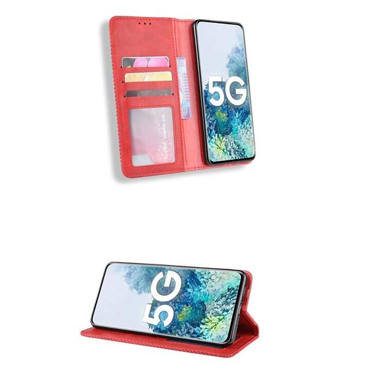 """EG MornRise Wallet Case für Apple iPhone 12 und 12 Pro 6.1"""" (2020) - rot"""