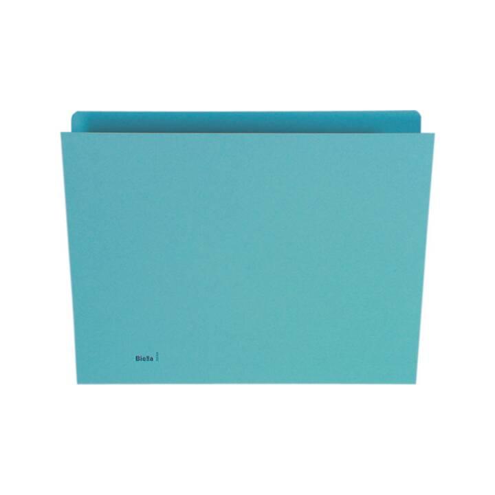 BIELLA Plieuse verticale A4 bleu 100 pièces