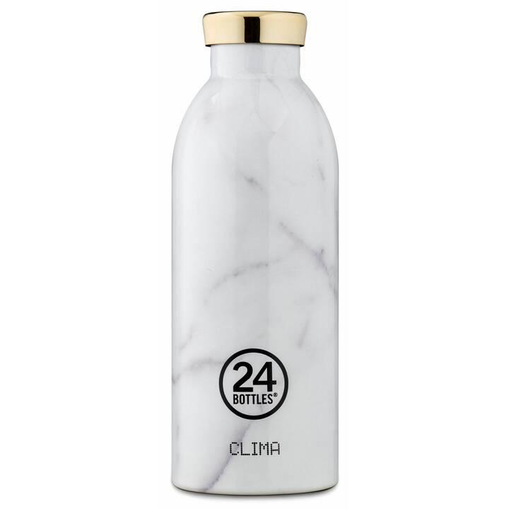 24BOTTLES Bottiglia sottovuoto Clima (0.5 l, Bianco, Grigio)