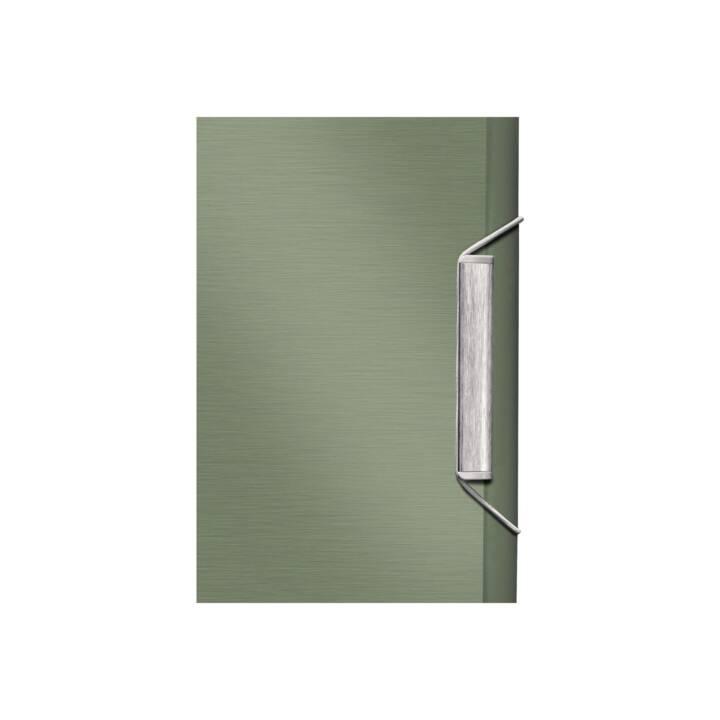 Chemise LEITZ A4 vert seladon 12 pièces