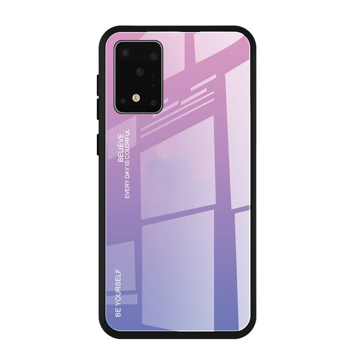 "EG Mornrise backcover per Samsung Galaxy S20 Plus 6.7"" 2020 - rosa viola"