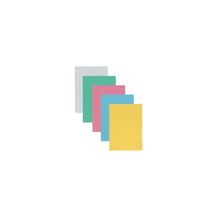 KOLMA Cartellina trasparente (Colori assortiti, A4, 100 pezzo)