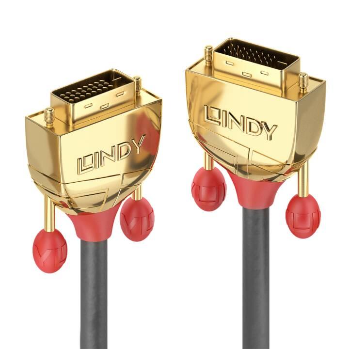 LINDY Gold Câble DVI, 10 m
