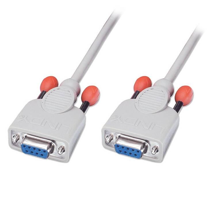 LINDY cavo null modem, 2 m