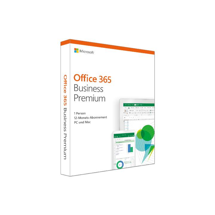 MICROSOFT Office 365 Business Premium (Abo, Deutsch)