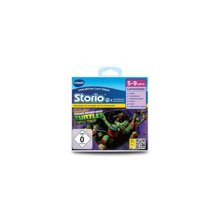 VTECH Storio 2 Gioco Educativo: Teenage Mutant Ninja Turtles